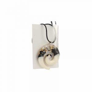 Orgonite Hanger Black, White and Gold