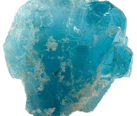 Zilveren Oorbellen Topaas Blauw Facet (40 mm) – 925 Sterling