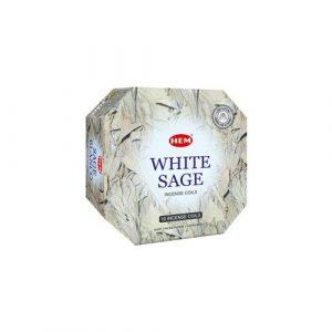 Hem Wierook Spiralen White Sage