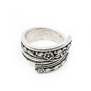 Verstelbare Bohemian Ring Bloemen