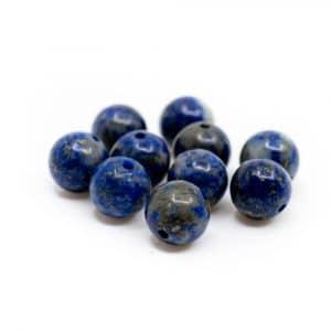 Edelsteen Losse Kralen Lapis Lazuli - 10 stuks (6 mm)