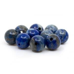 Edelsteen Losse Kralen Lapis Lazuli - 10 stuks (8 mm)