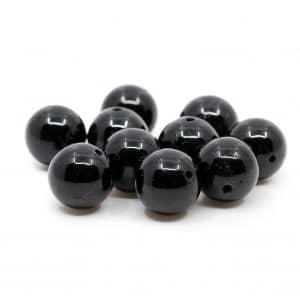 Edelsteen Losse Kralen Obsidiaan - 10 stuks (10 mm)