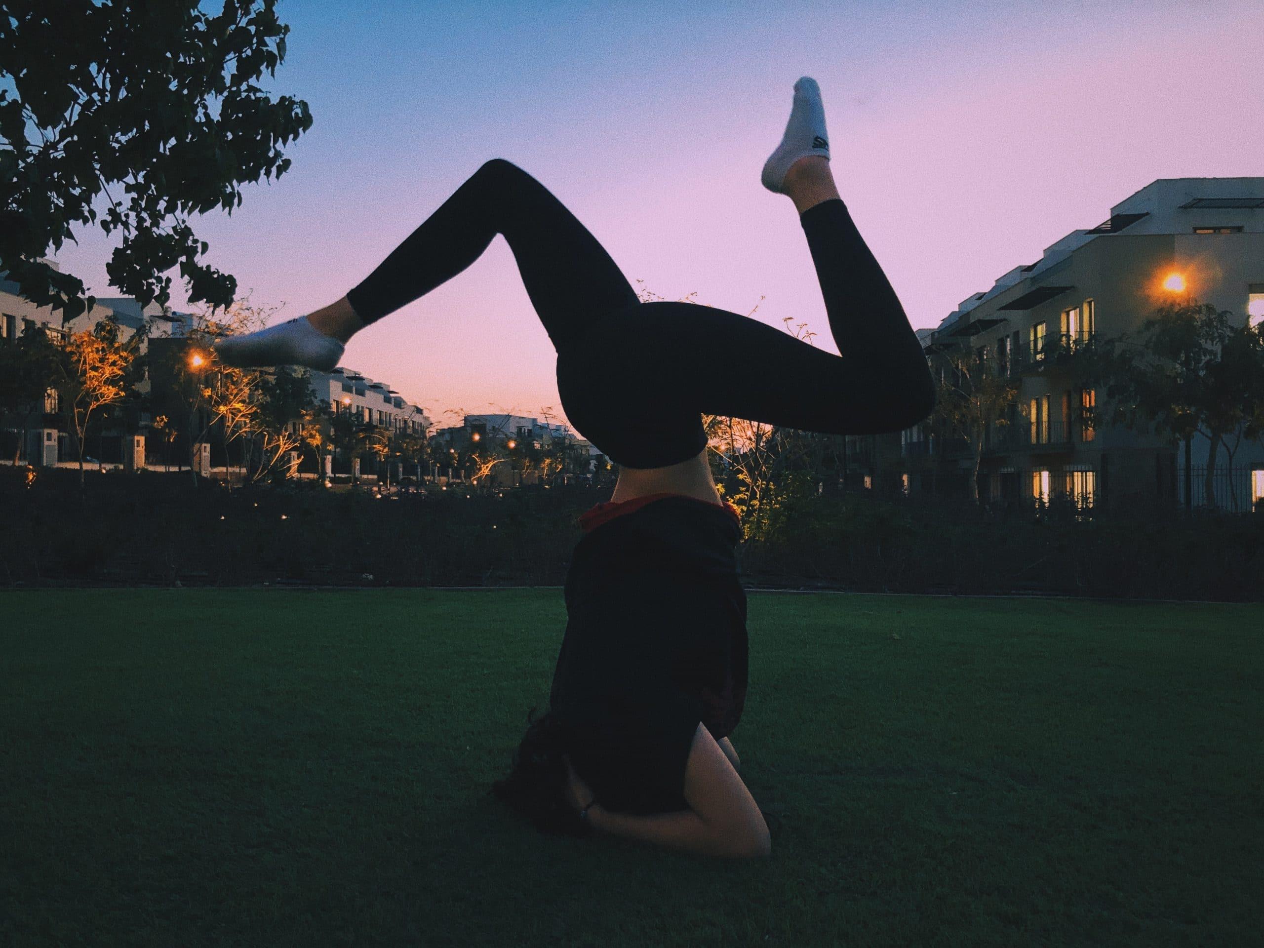 hoofdstand yoga balans