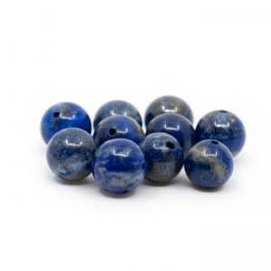 Edelsteen Losse Kralen Lapis Lazuli - 10 stuks (10 mm)