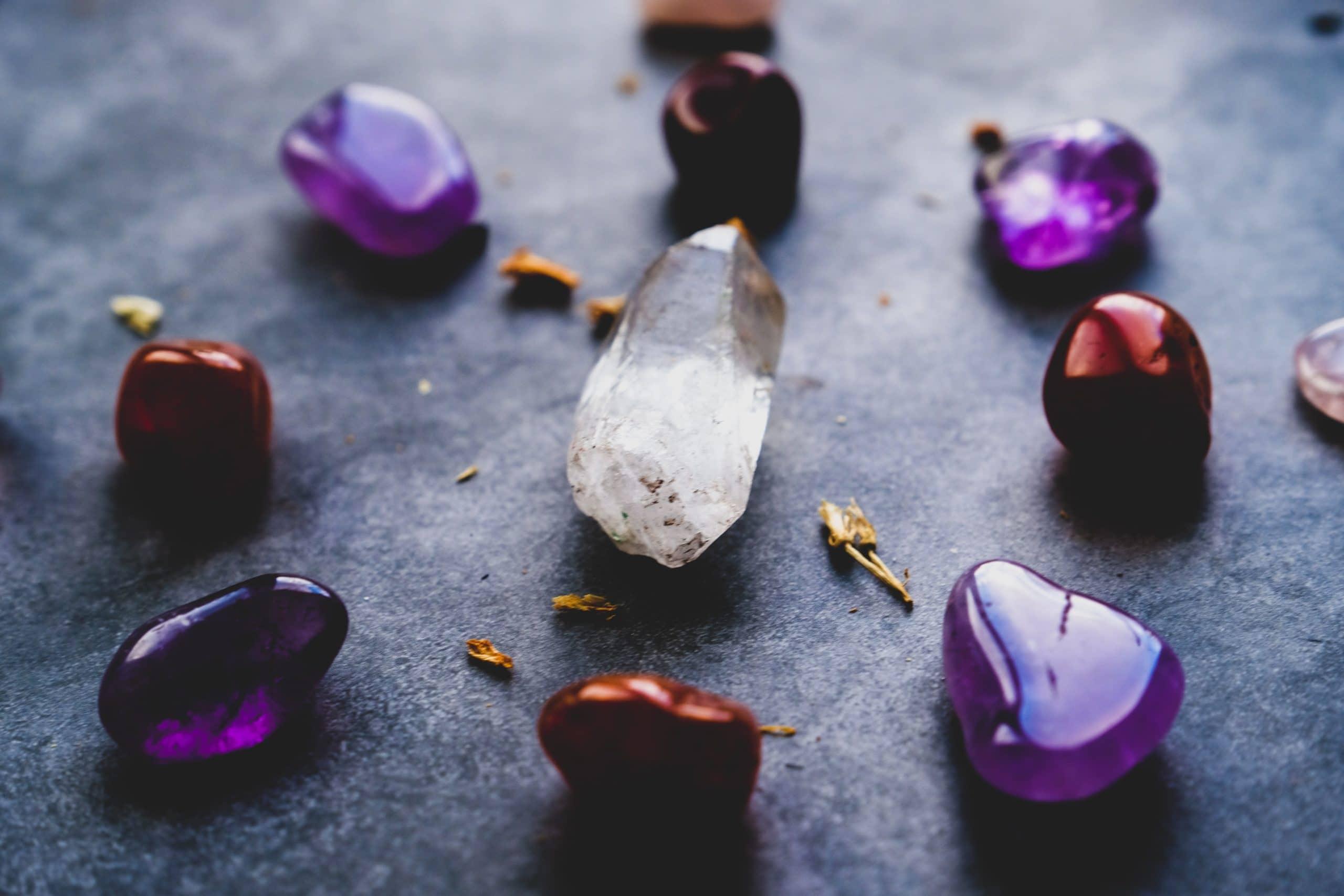 kristal opstelling