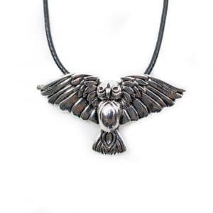 Viking Hanger Uil met Gespreide Vleugels