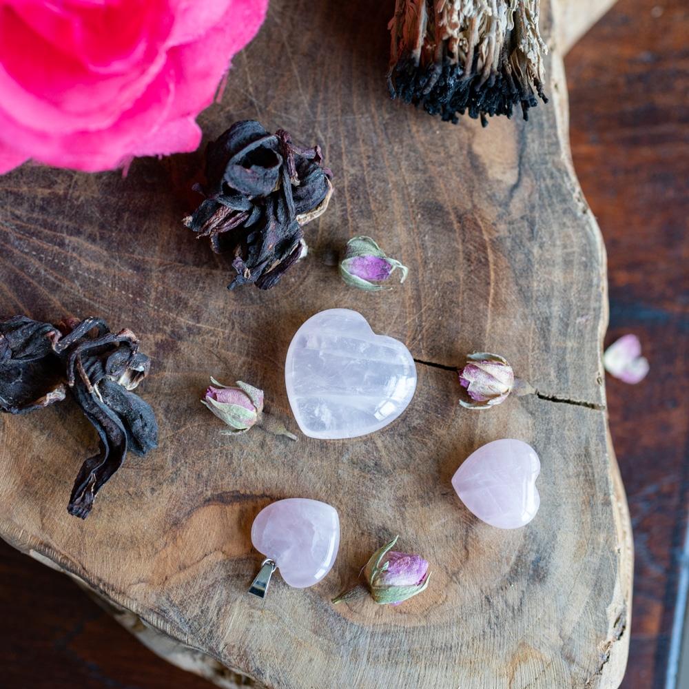 bergrkristal hart edelstenen voor kinderen