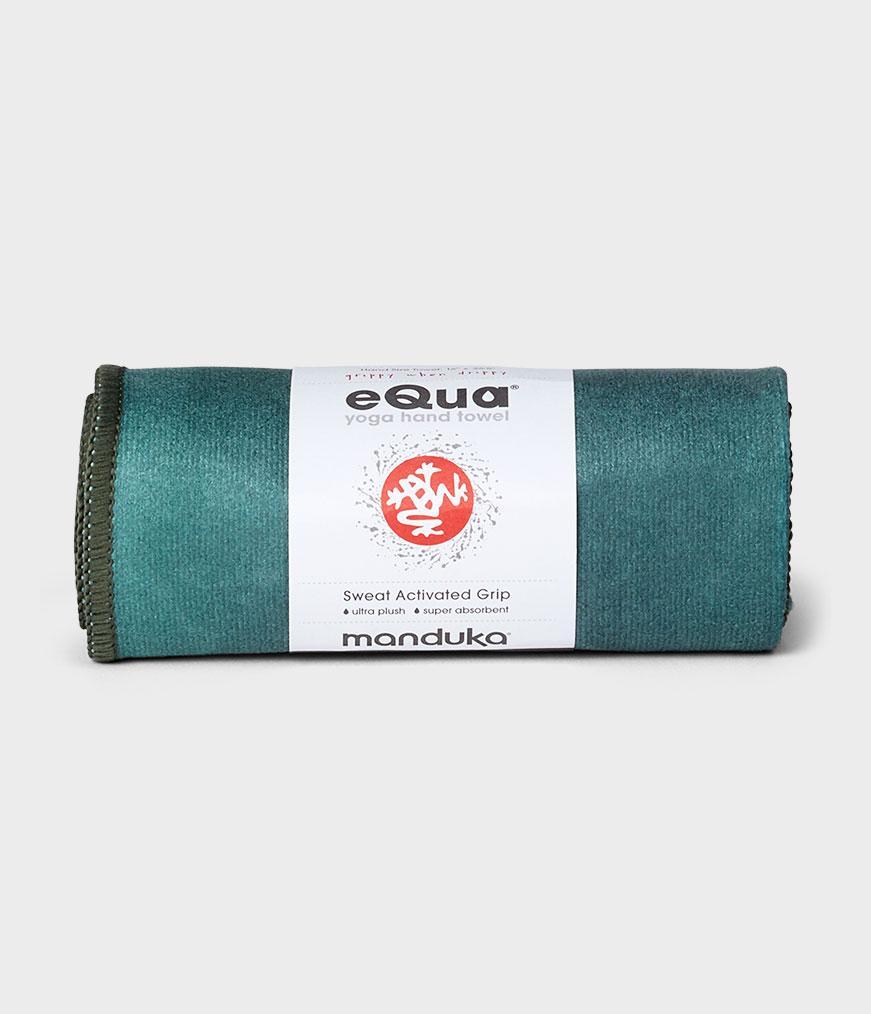 Spiru Manduka eQua Yoga Handdoek - Camo Green TD (Klein)