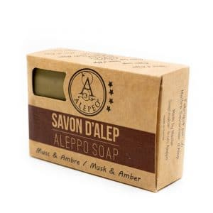 Aleppo Zeep Muskus-Amber – 8% Laurel Bay Oil – 100 gram
