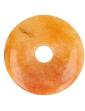 Aventurijn Geel Donut (30 mm)