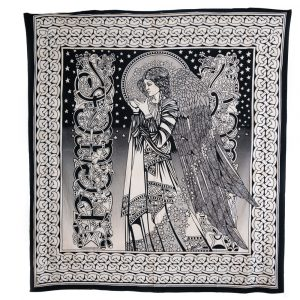 Authentiek Wandkleed Katoen Engel (240 x 210 cm)