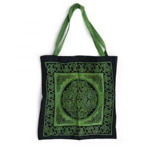 Tote Bag Katoen - Keltische Knoop (45 cm)