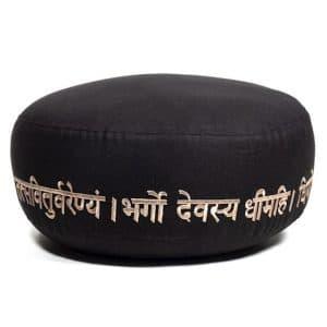 Meditatiekussen Gayatri Mantra Bio Katoen