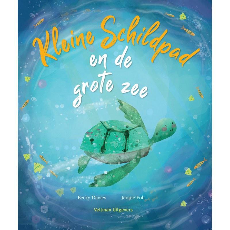Kleine schildpad houdt zielsveel van de grote zee. ze maakt jarenlang steeds dezelfde reis naar de prachtige ...