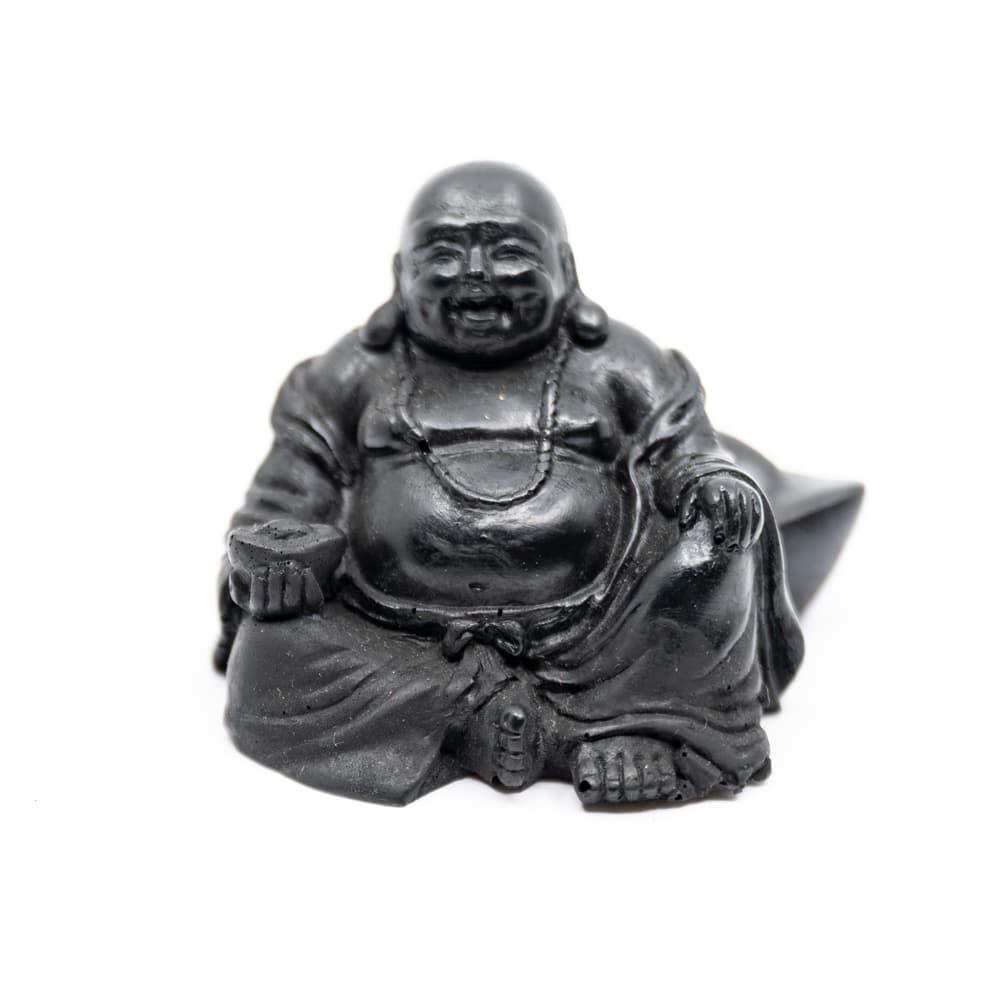 Spiru Shungiet Beeld Happy Boeddha Geperst