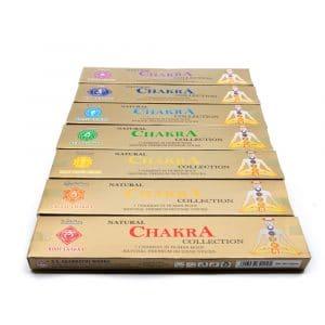 Wierook 7 Chakra Cadeauset (7 pakjes)