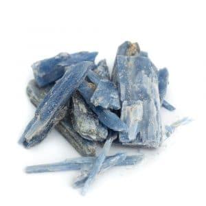Ruwe Blauwe Kyaniet Edelsteen Stukjes - 100 gram