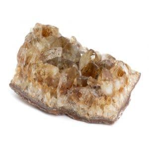Ruwe Citrien Edelsteen Cluster 6 - 8 cm