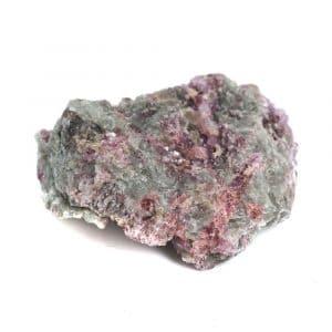 Ruwe Albiet met Roze Toermalijn Insluitsels Edelsteen 20 - 40 mm